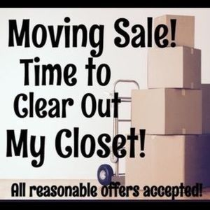 Moving out sale! Most offers accepted!